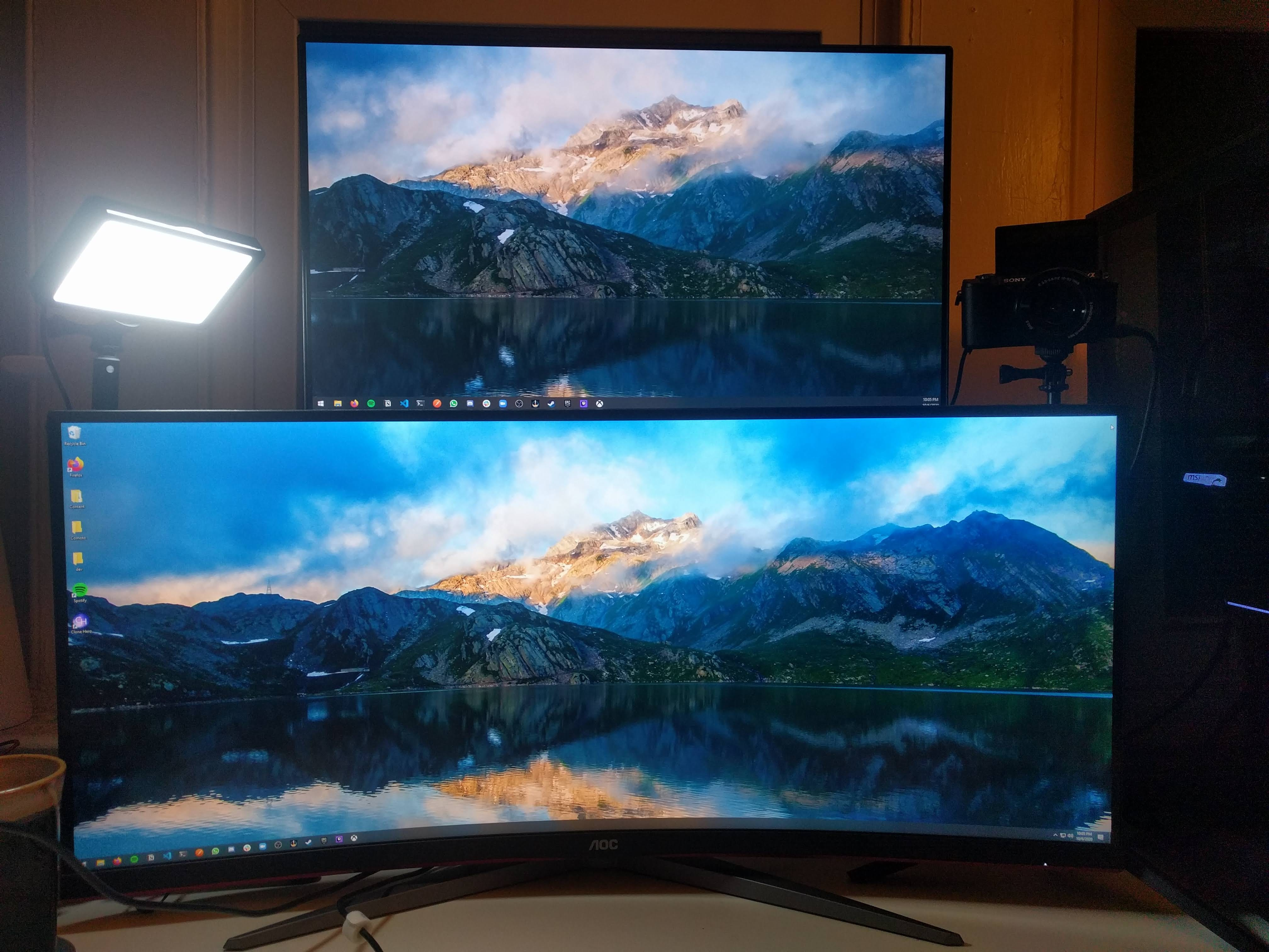 Two Monitor setup