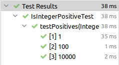 Parametrisierte Tests mit JUnit 5