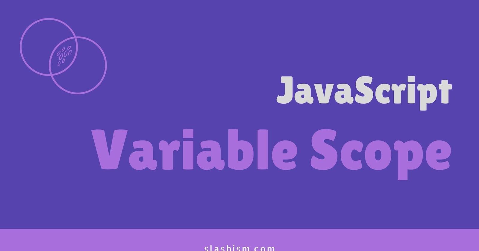 Variable Scope in JavaScript