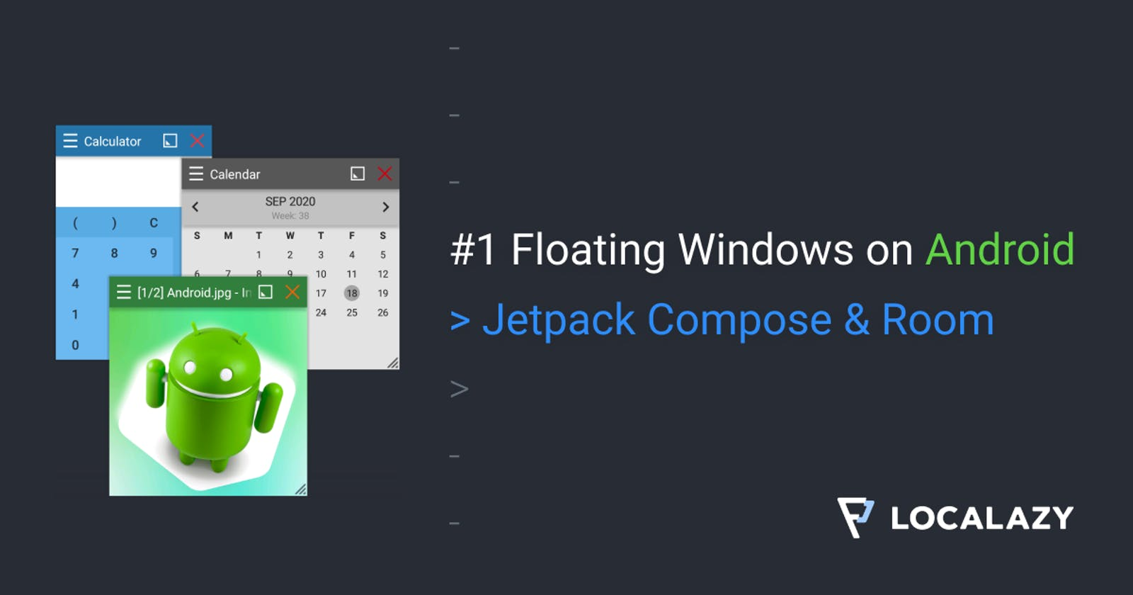 #1 Floating Windows on Android: Jetpack Compose & Room