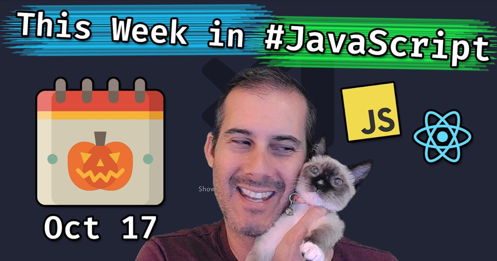 This Week in JavaScript by Joel 2020-10-16