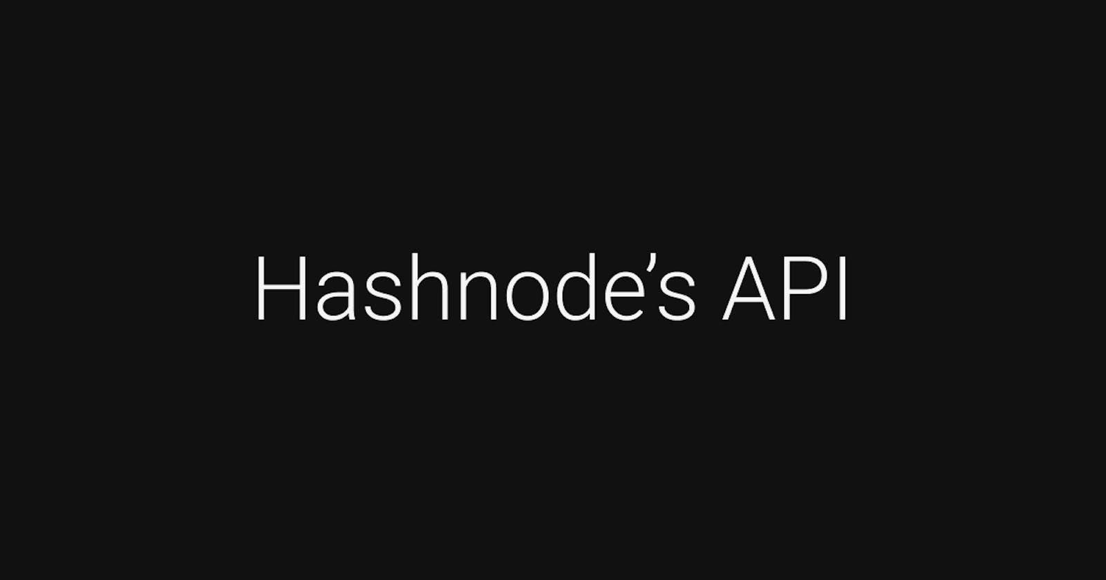 Using Hashnode's API for Blog Previews