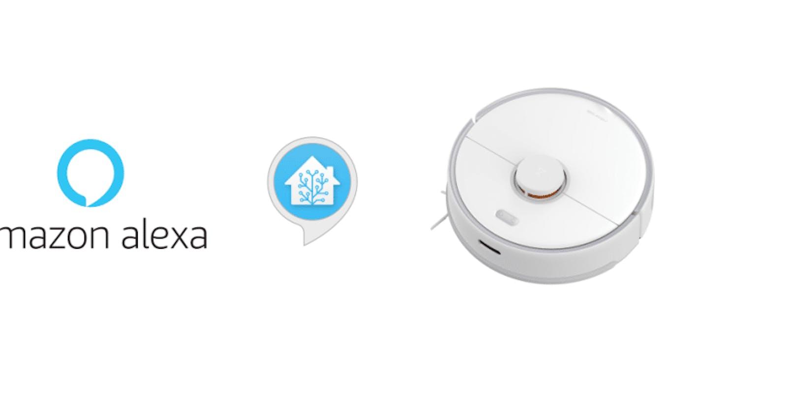 """""""Alexa, ask Roborock to clean my bedroom"""""""