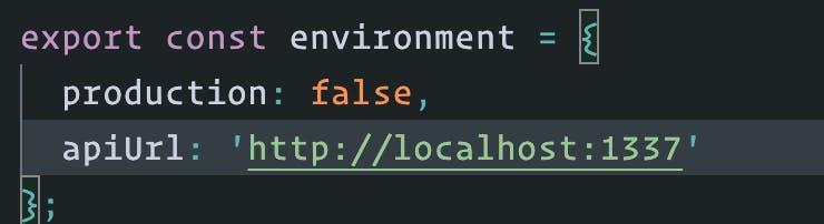 API URL