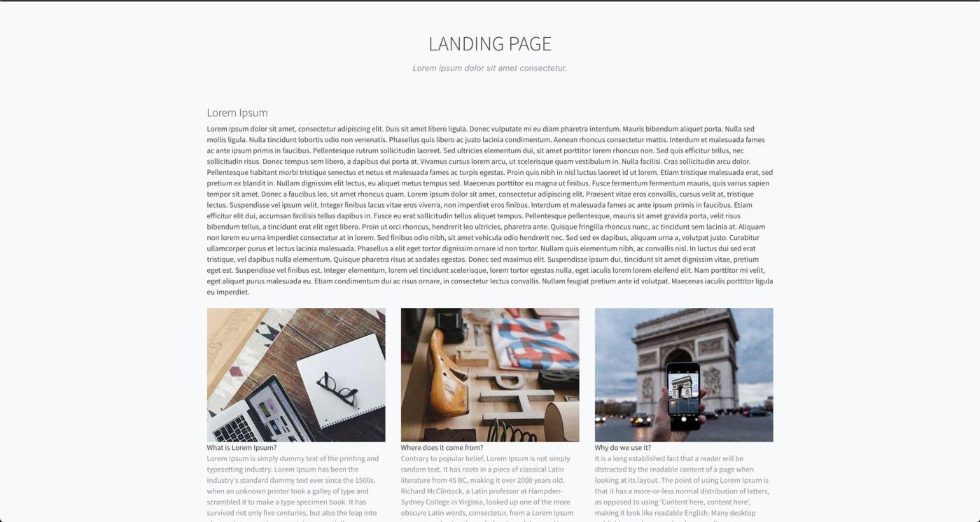 Blog application