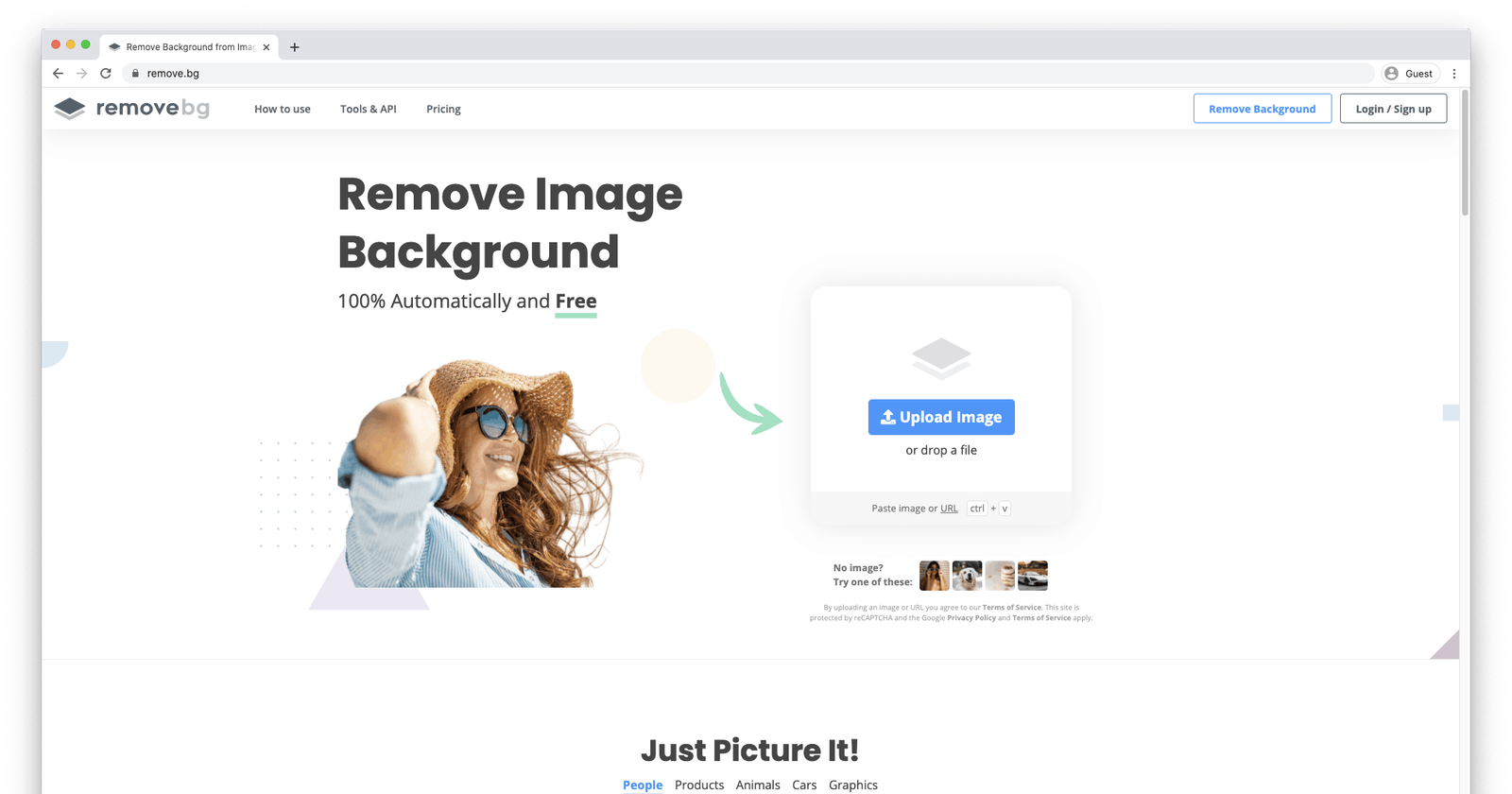 Remove backgrounds from images in seconds with remove.bg [Week 42/20 in Review]