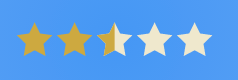 SVG Star rating