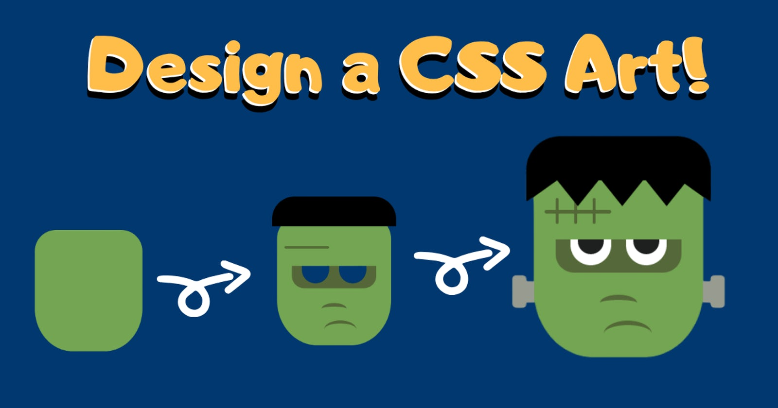 Design a CSS Art-(Frankenstein)