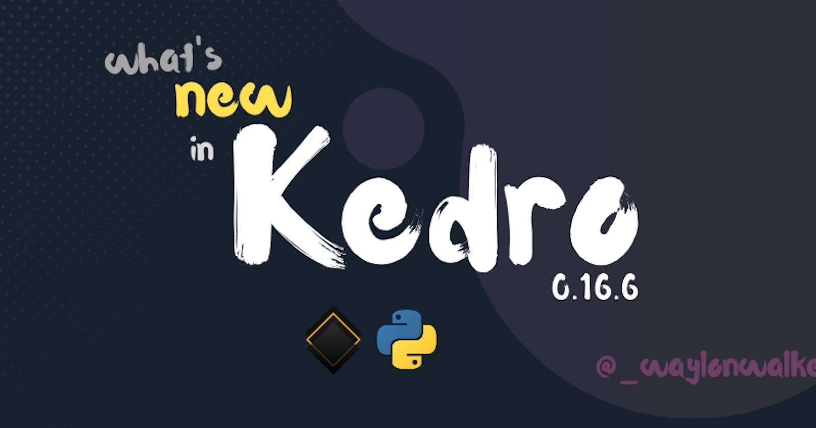 What's New in Kedro 0.16.6