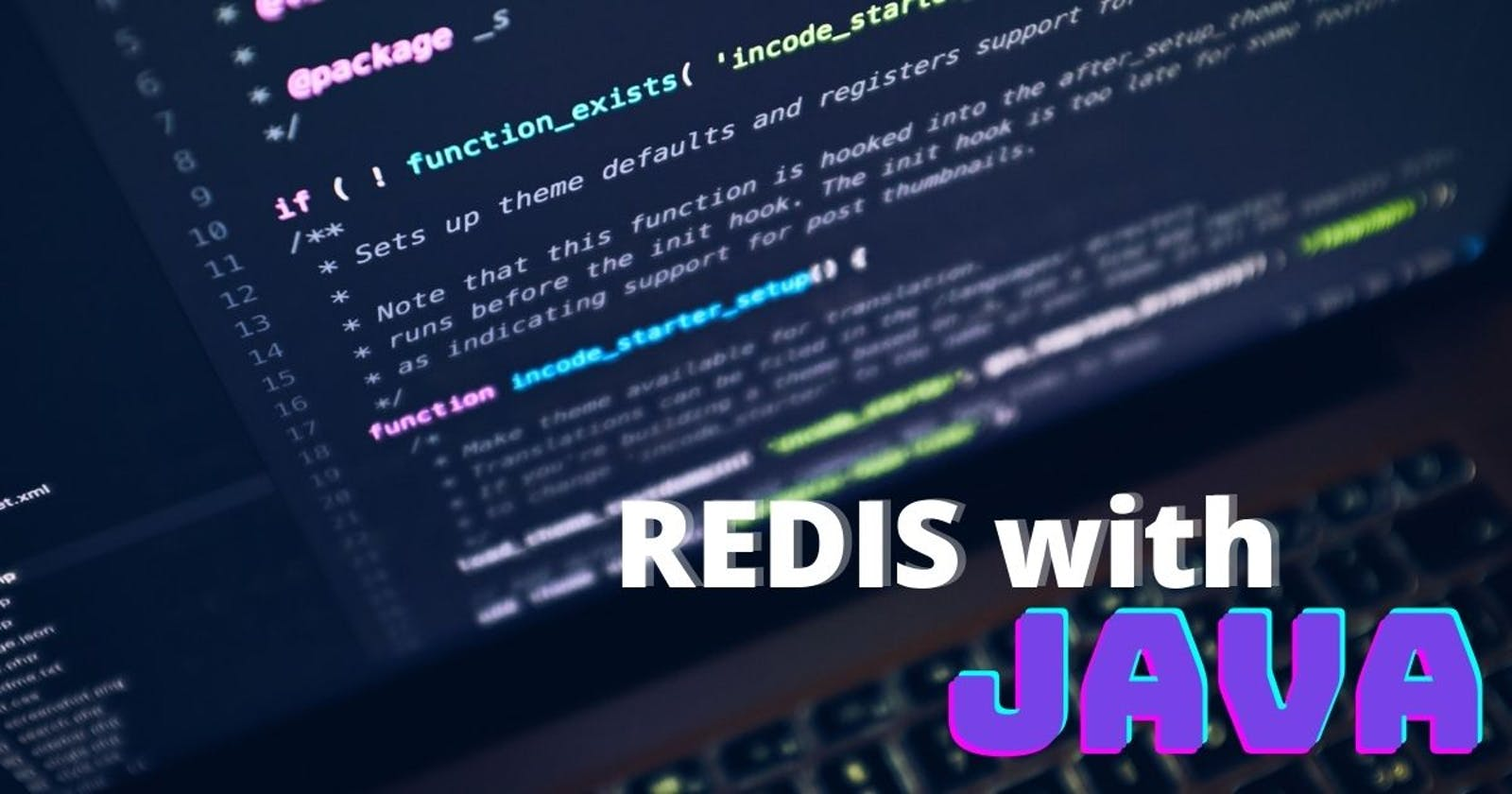 How to use Redis with Spring in Java