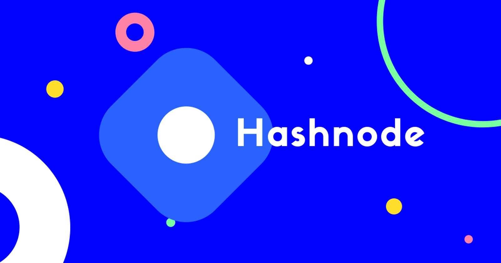Getting Started with Hashnode