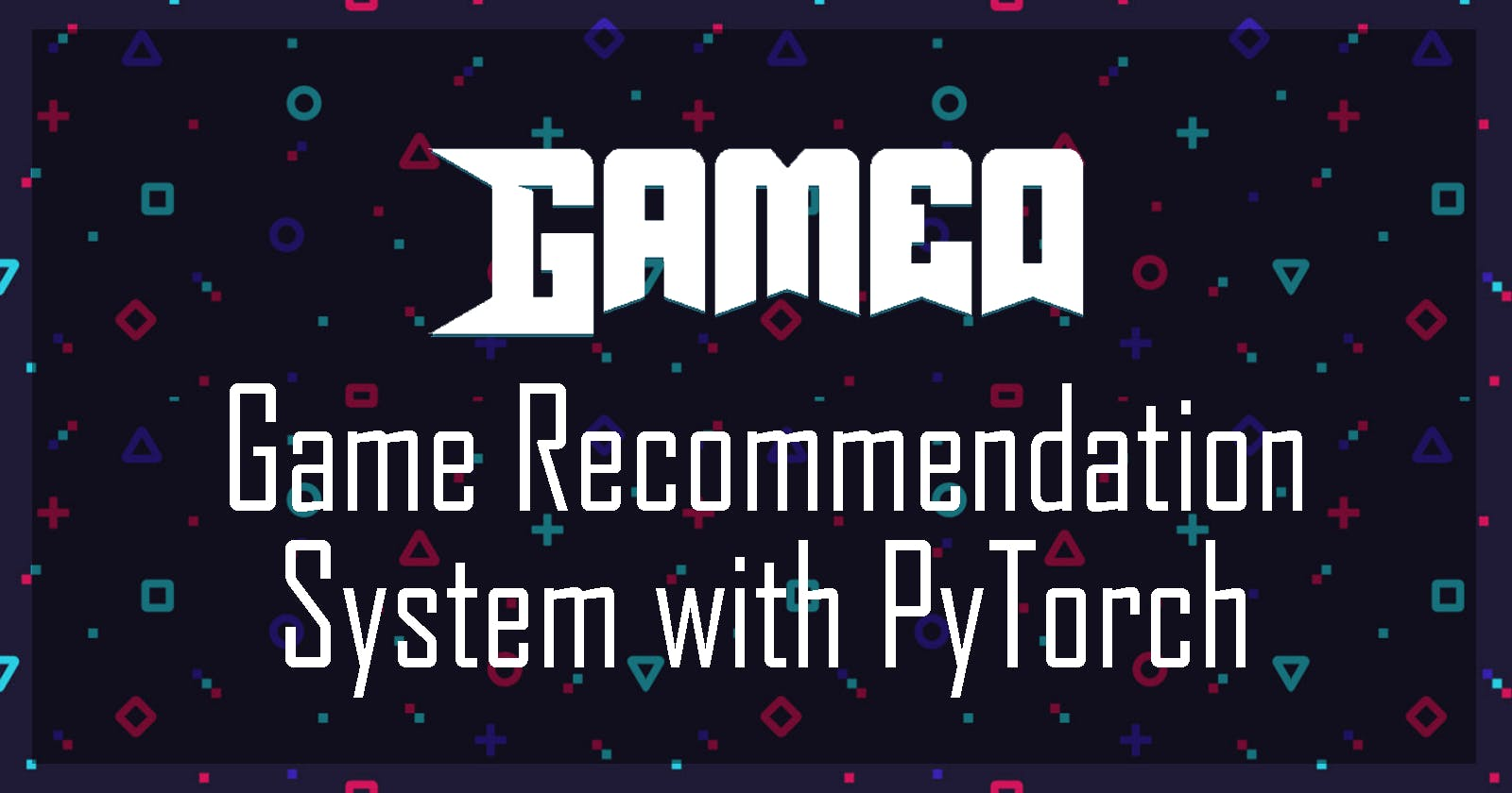 My October Passion Project: Gameo