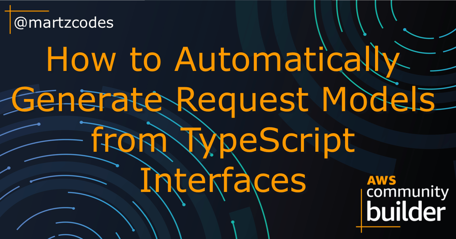How to Automatically Generate Request Models from TypeScript Interfaces