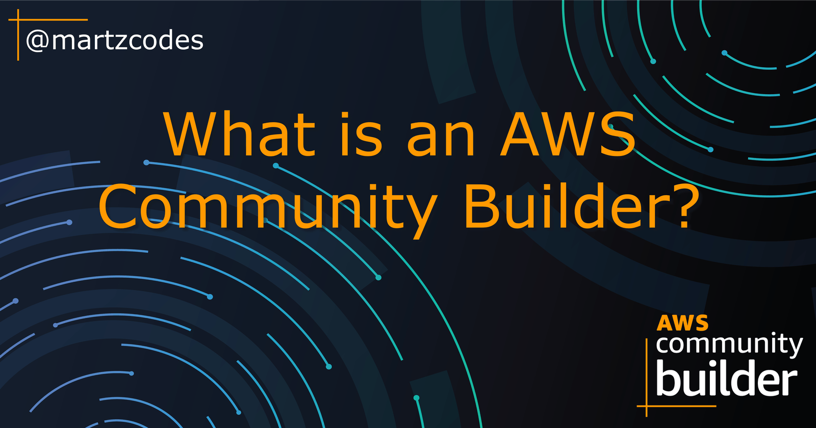 What is an AWS Community Builder?