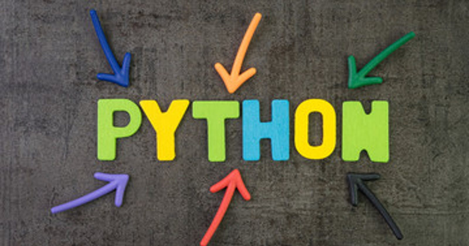 A Python Appetizer