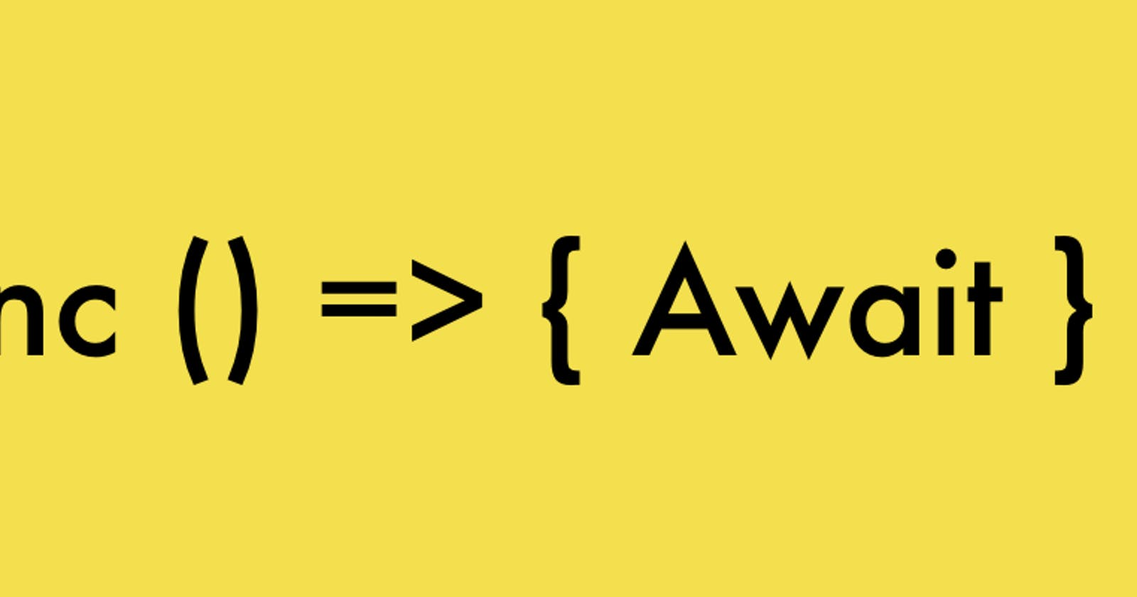 Benefits Of ASync/Await In Programming