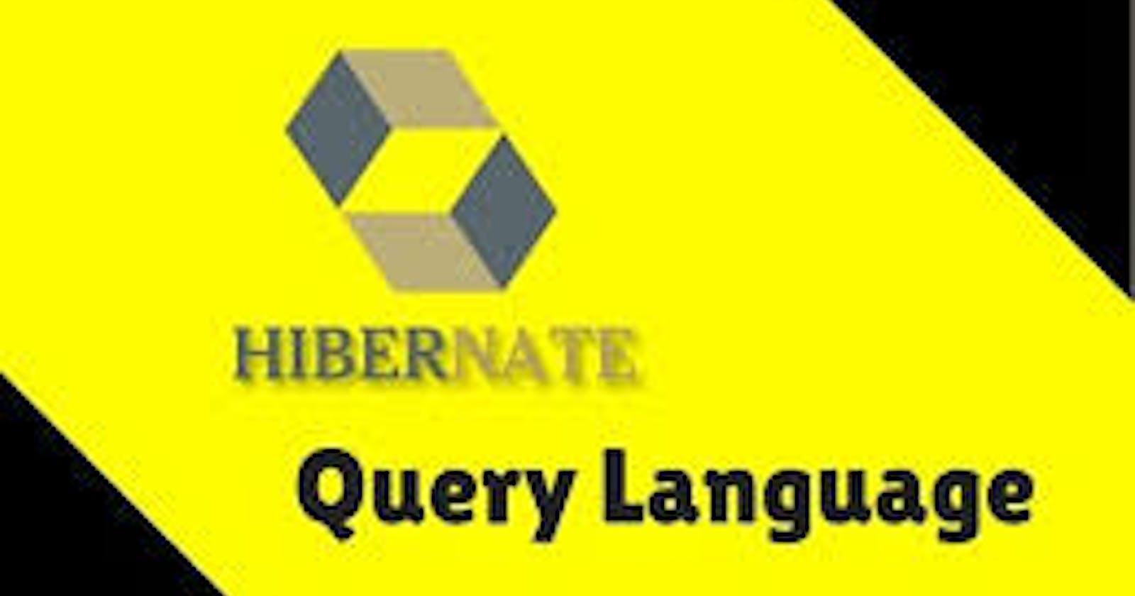 Hibernate Query Language - HQL
