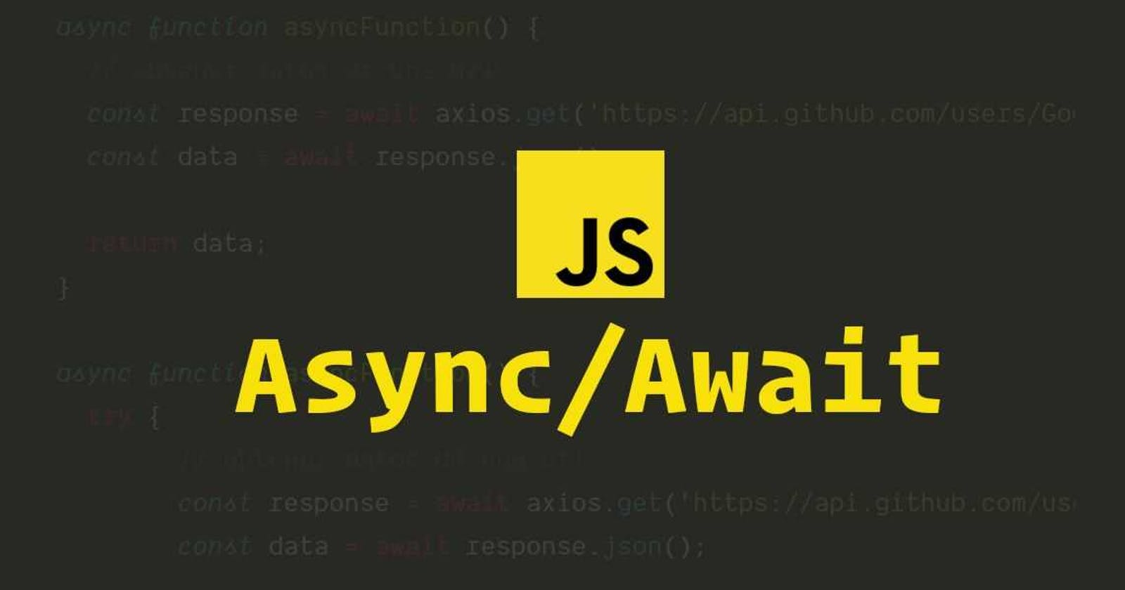 Why Should You Use Top-level Await in JavaScript?