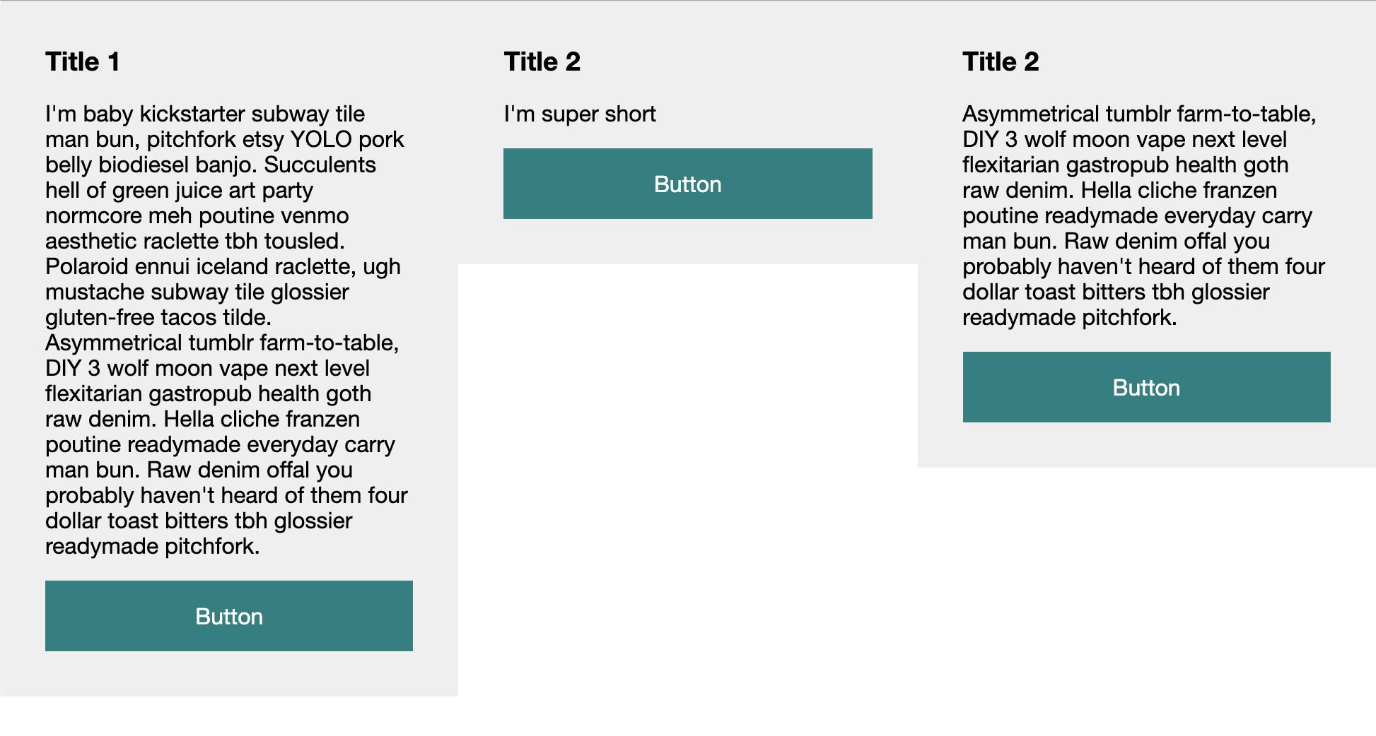 CSS Column struggles