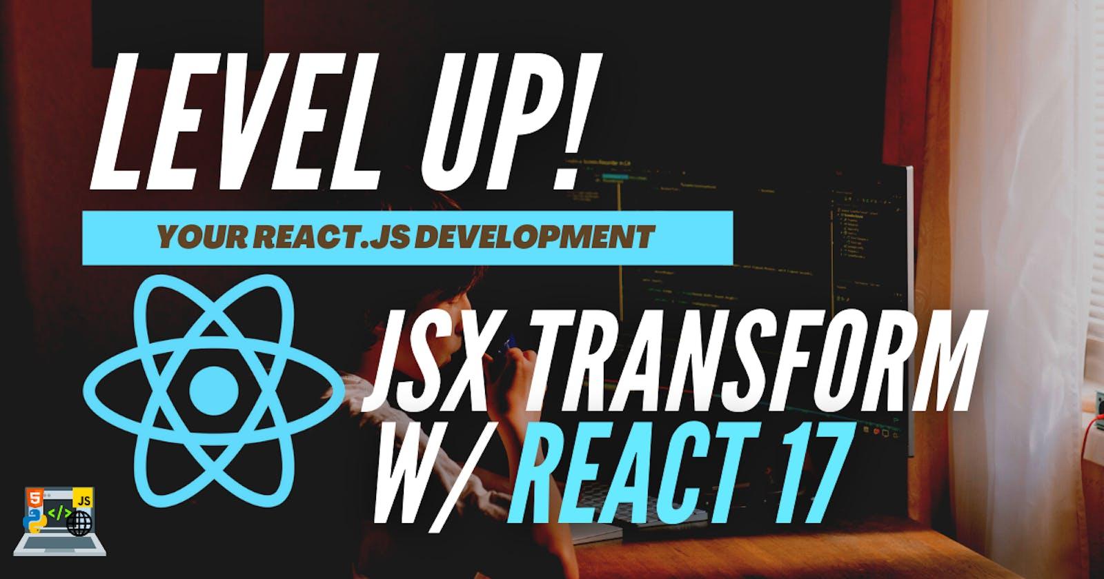 ✨ React 17 and React Scripts 4   A Walkthrough