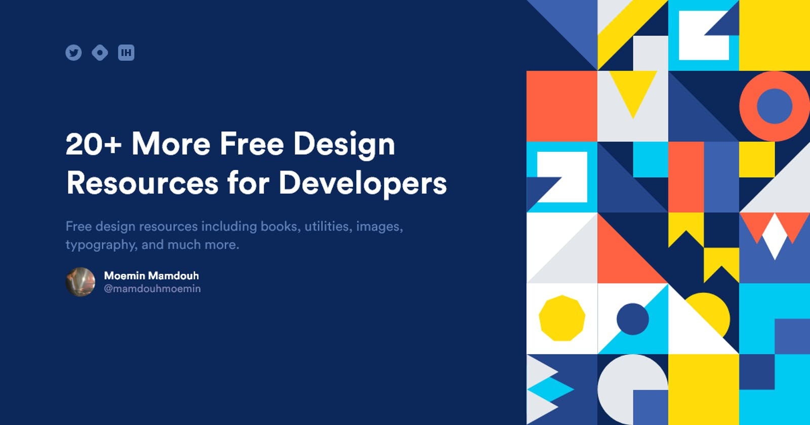 20+ More Free Design Resources for Developers