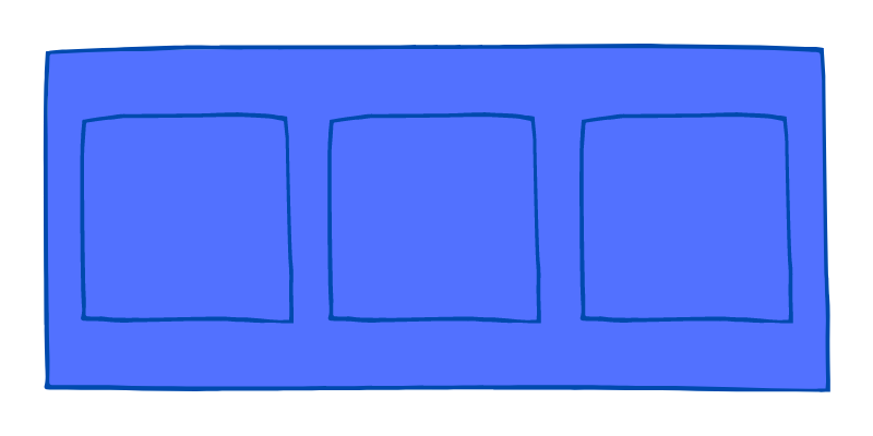 Flexbox container / Flex container
