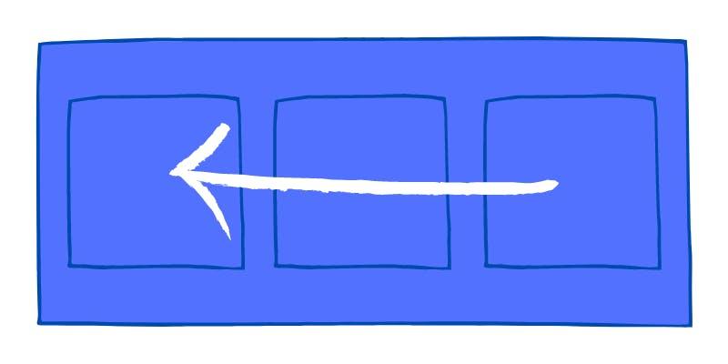 Flex direction row-reverse