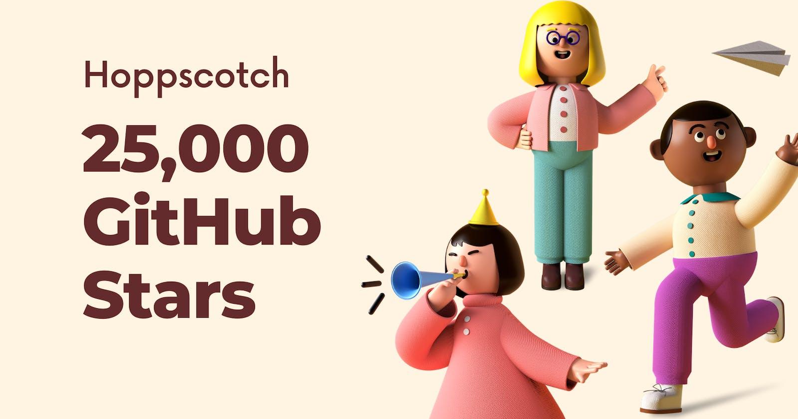 Hoppscotch Celebrating 25,000 GitHub Stars ✨