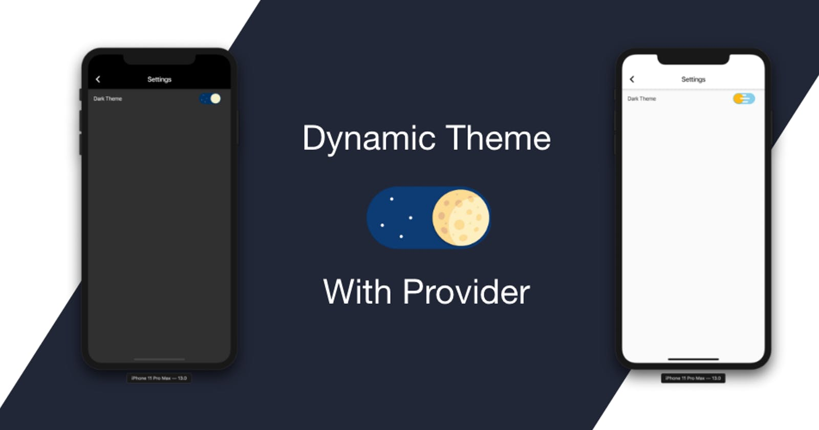 How To Create a Dynamic Theme in Flutter Using Provider