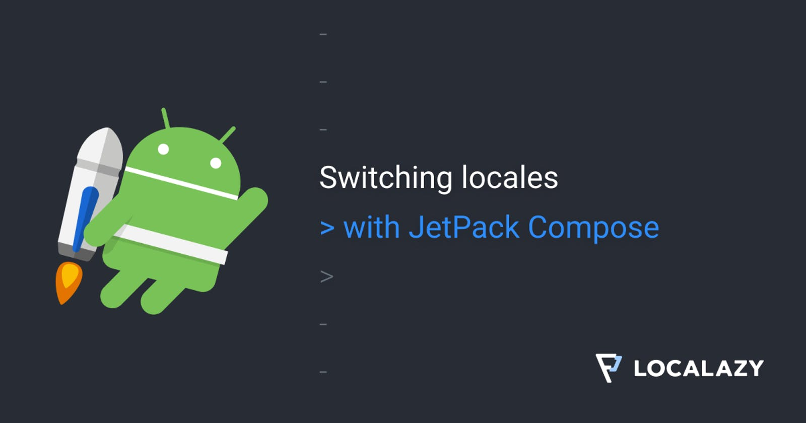 Switching locales with Jetpack Compose