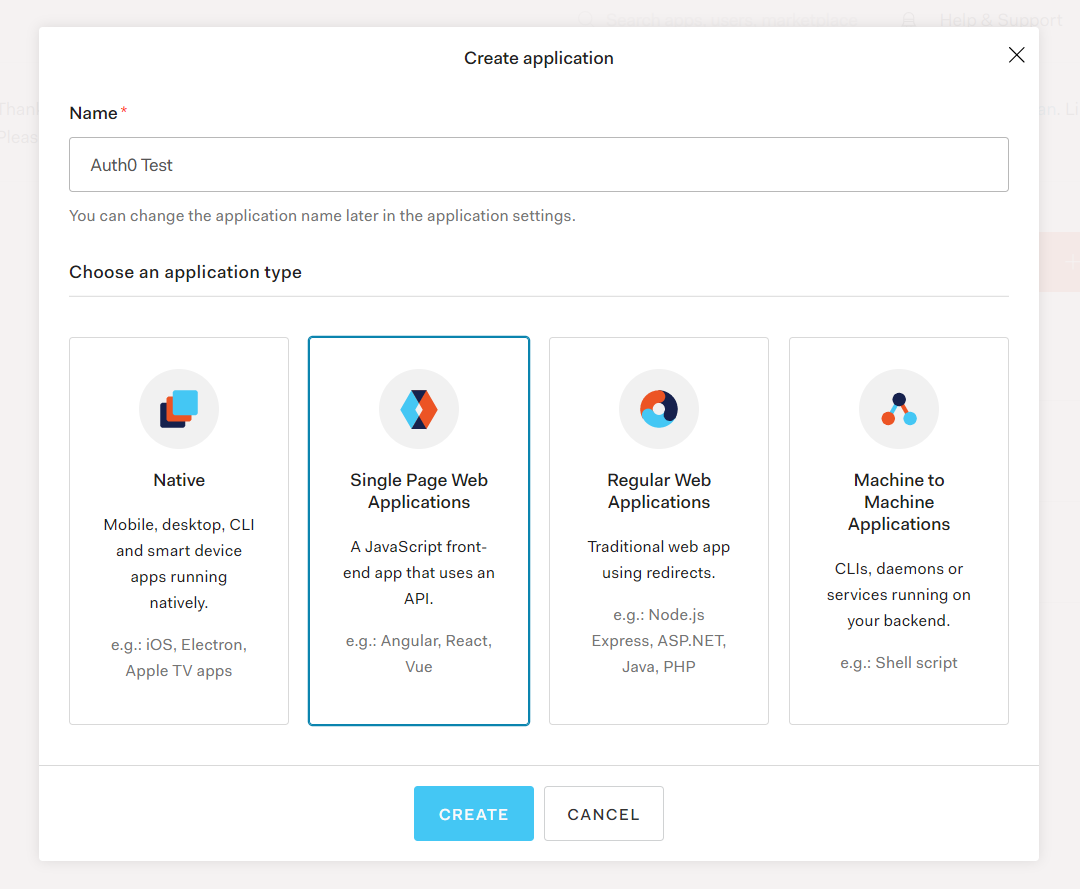 Create Single Page Web Application