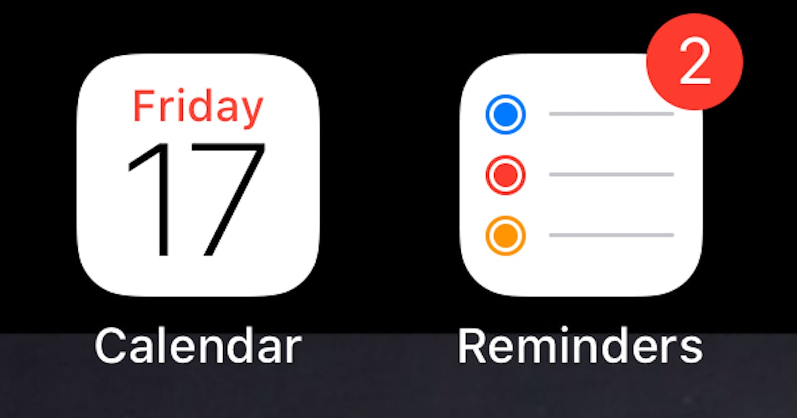How I finally ended up using Apple Calendar and Reminders to manage my time and stay productive