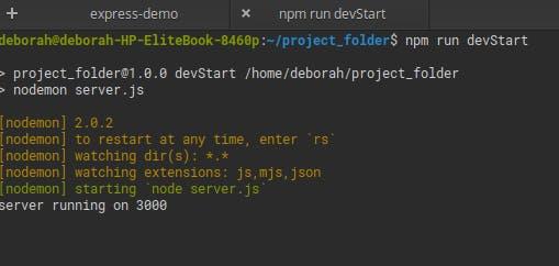 project folder devStart.png