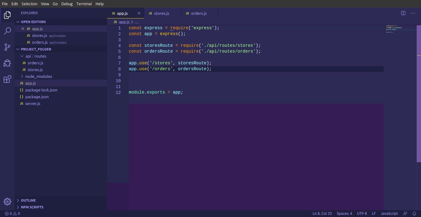 project folder for orders.js in app.js.png