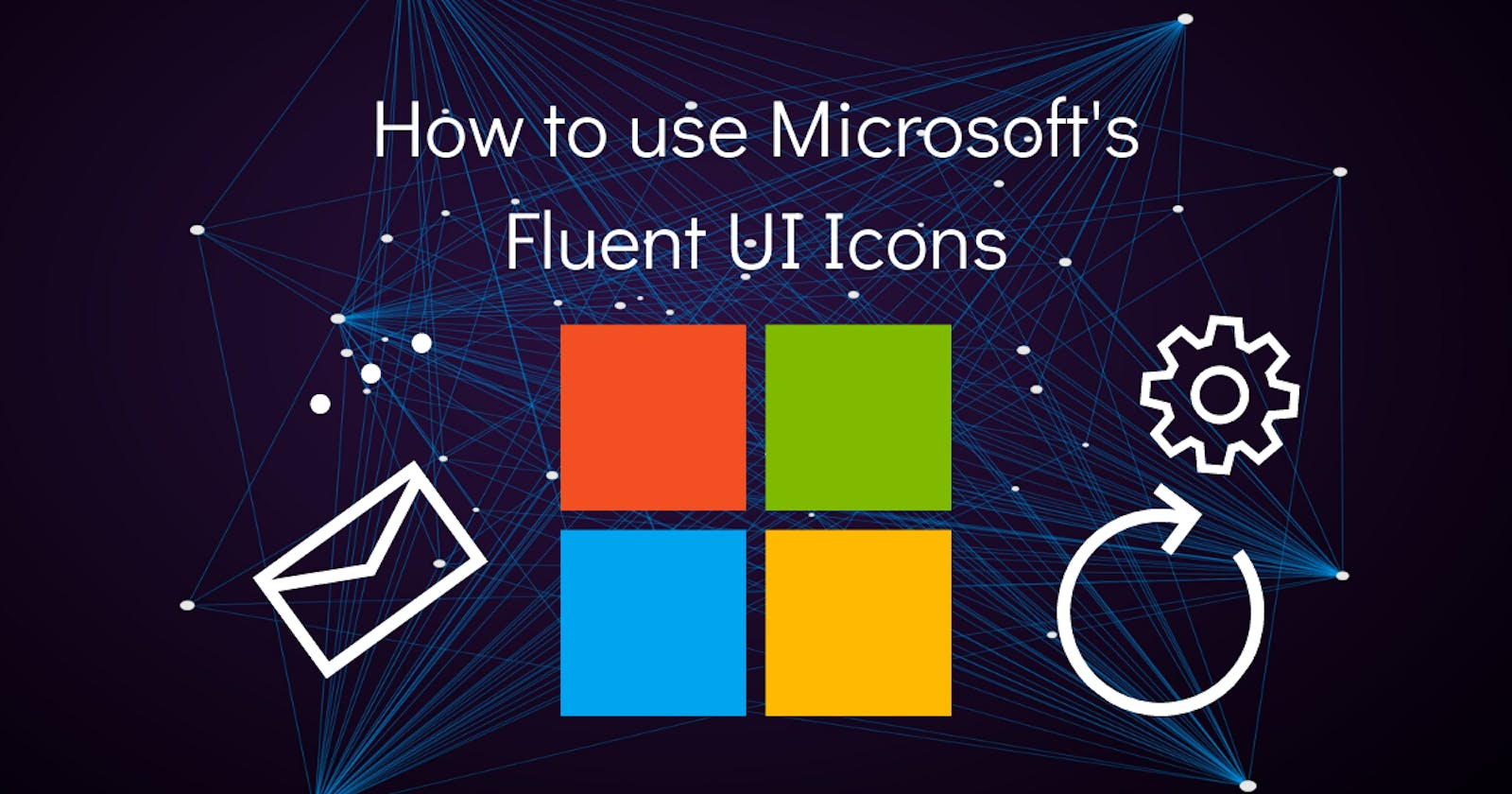 💄 How to use Microsoft Fluent UI Icons on your website?