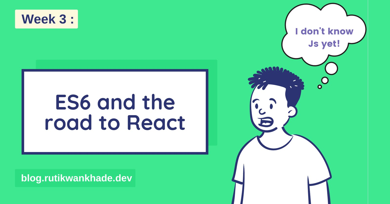 ES6 and the road to react