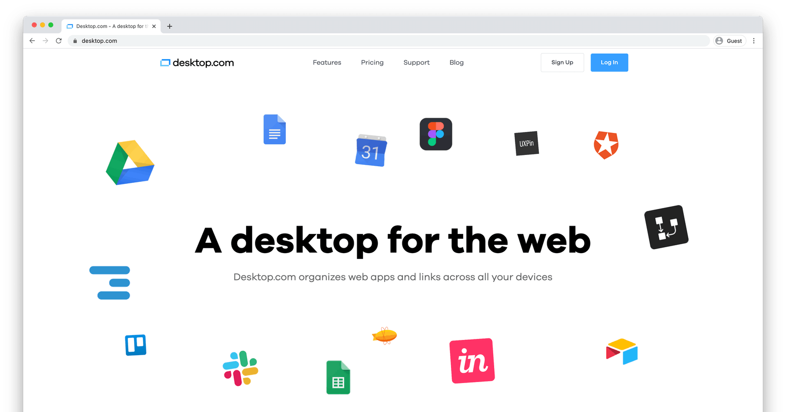 How To Quickly Create a Desktop for your Digital Life.