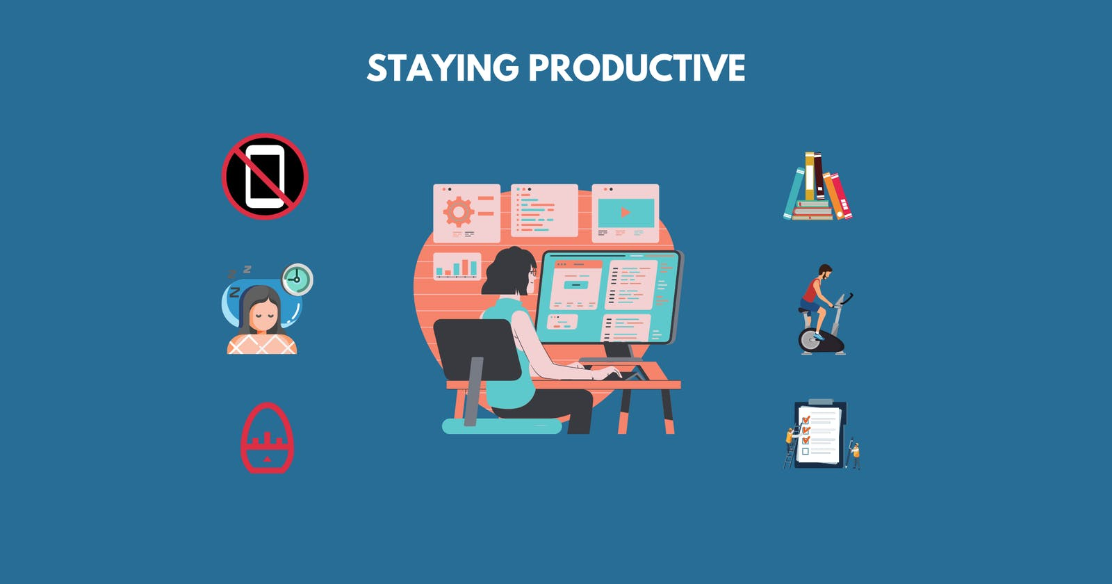 7 Things I do to stay productive while Working from Home