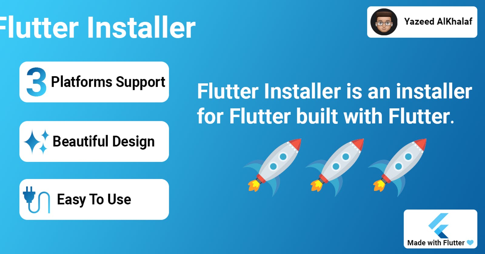 I made Flutter Installer using Flutter 🚀