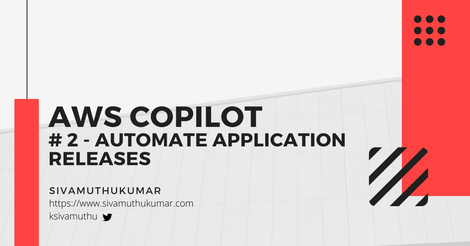 AWS Copilot - Automate Application Releases