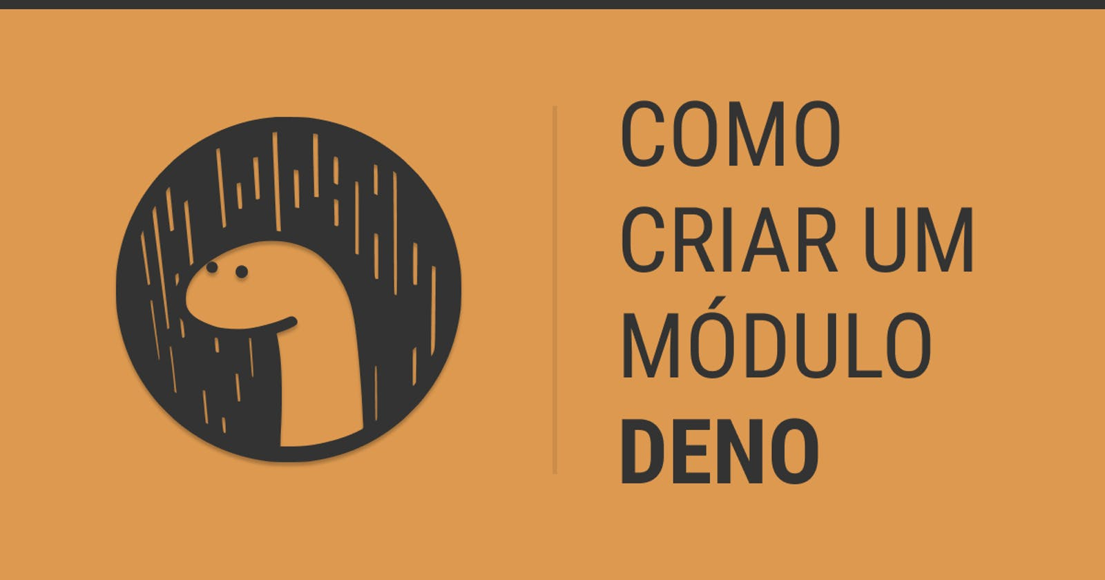 Como criar um módulo Deno