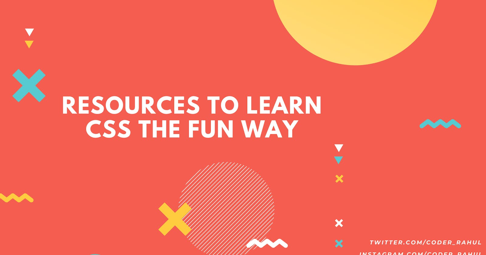Best Resources to Learn CSS the fun way