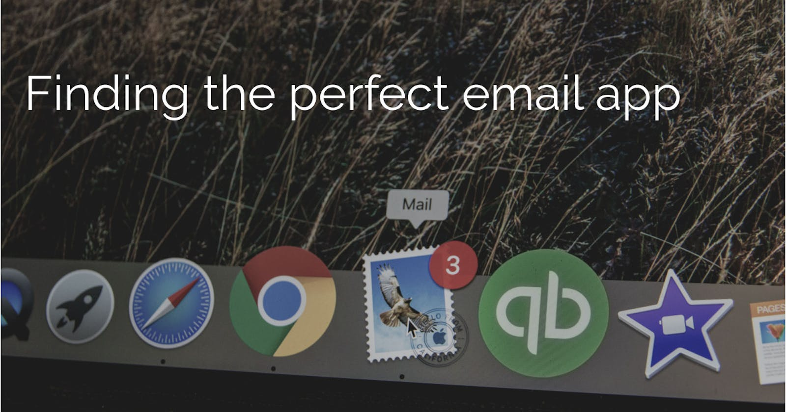 Finding the perfect email app...