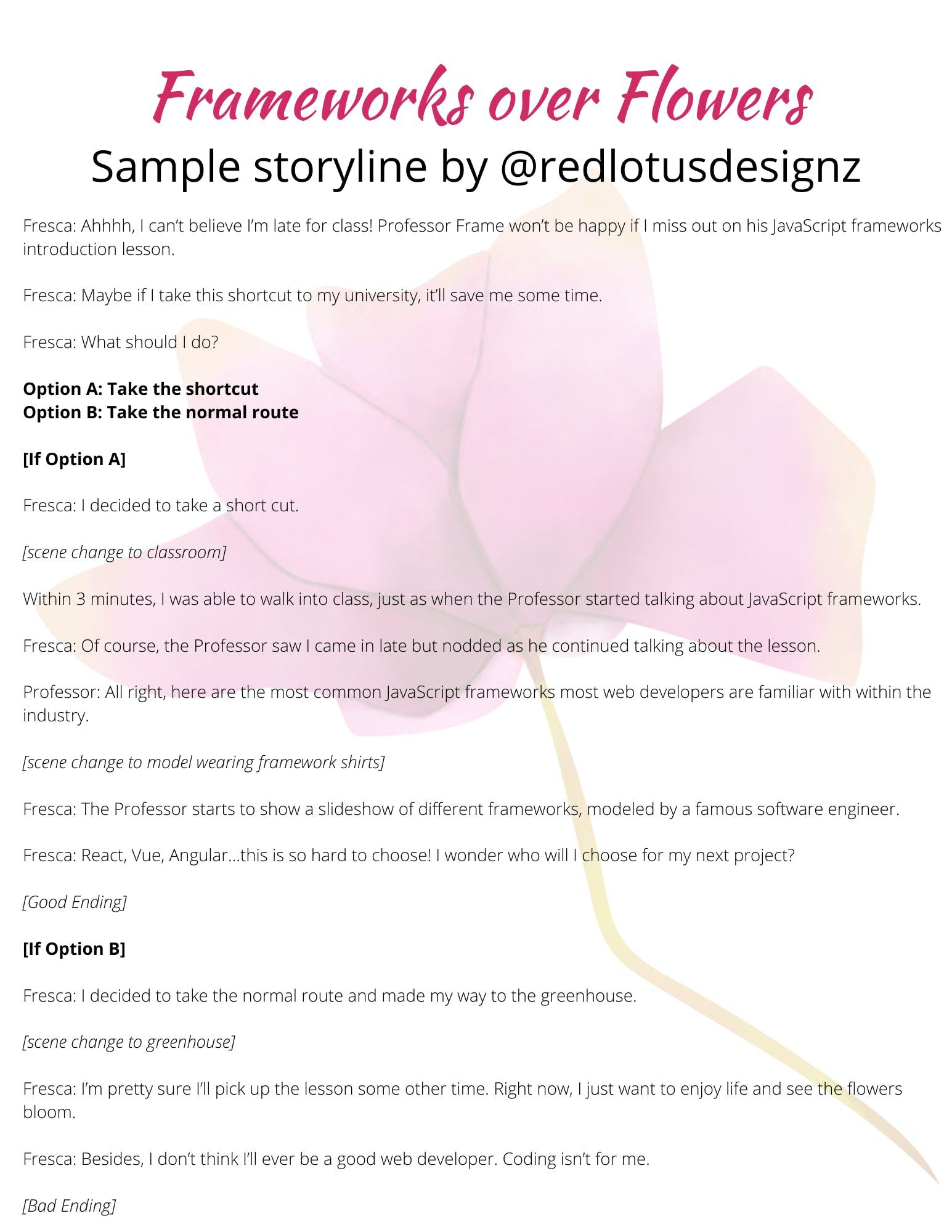 frameworks over flowers sample script.png