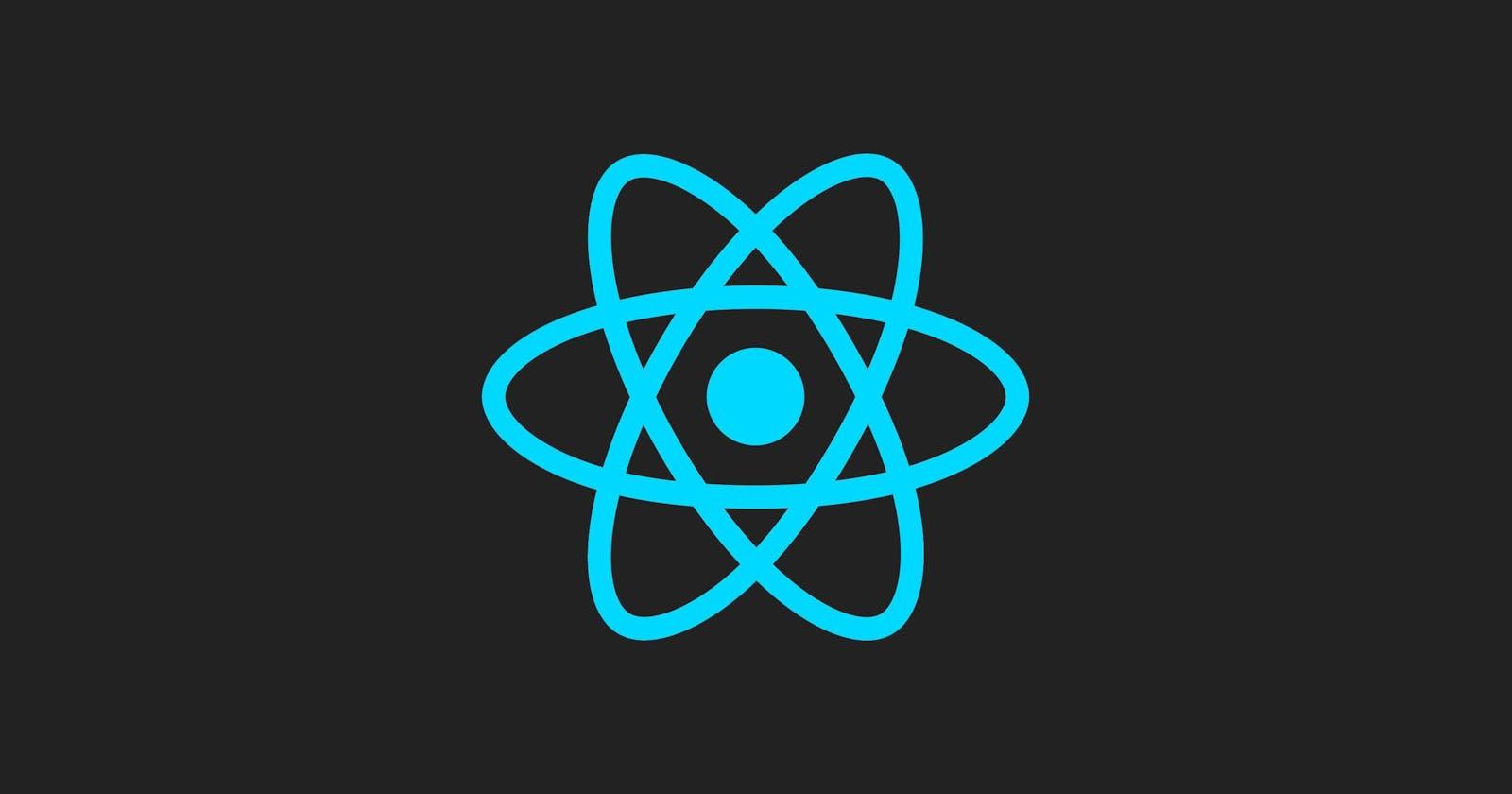 React JS Log Blog - Prologue