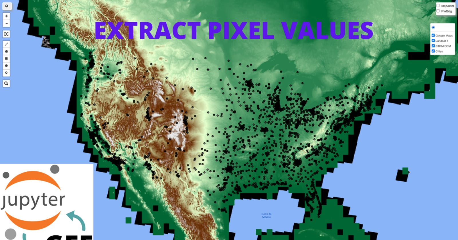 GEE Tutorial #43 - How to extract pixel values from an Earth Engine image using a point shapefile