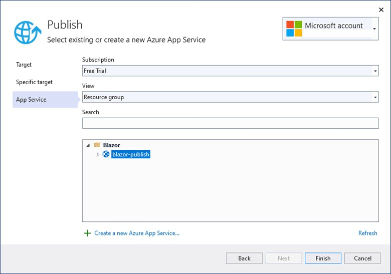 Login-into-your-Azure-account-and-choose-the-web-app-service.-Then-click-Publish.png