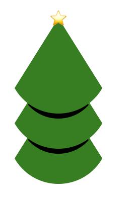 CSS Clip-path Christmas tree