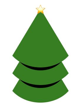 CSS Pseudo-element Christmas Tree
