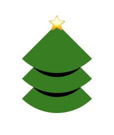 CSS Border pseudo Christmas tree